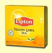 Продаю чай Lipton пакетированный коробками по 100 пакетиков – 30 грн.